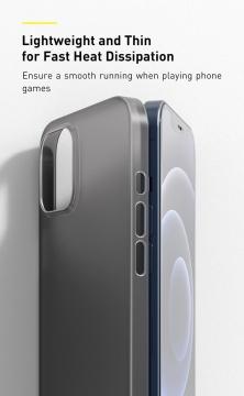 Ốp lưng iPhone 12 ProMax - Baseus WING siêu mỏng